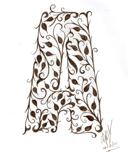 Card sketch example artwork