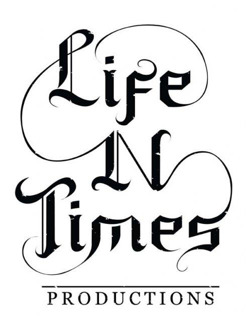 Life N Time lettering design