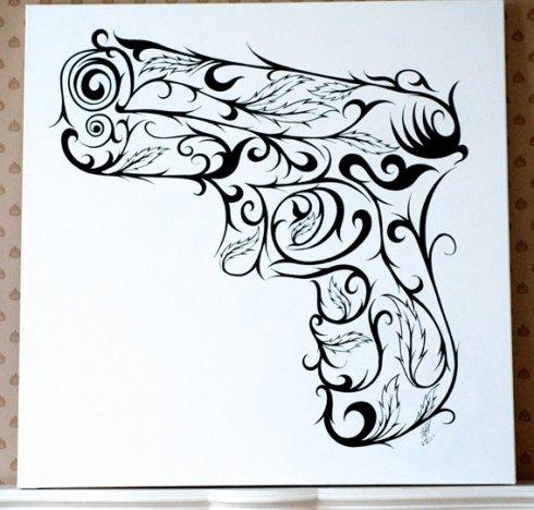 Peace made artwork